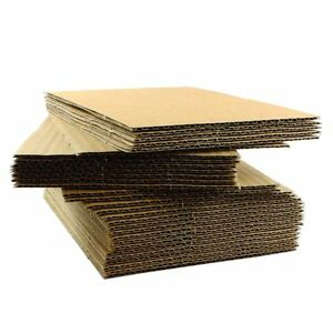 Lp Record 12 x12 Corrugated Cardboard Insert Pads Various Quantities Free Ship