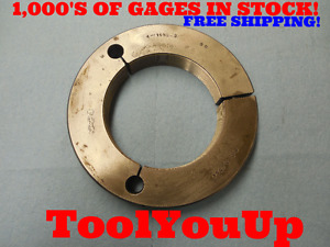 4 16 Ns 3 Thread Ring Gage 4 00 Go Only P d 3 9594 Precision Tooling Tools