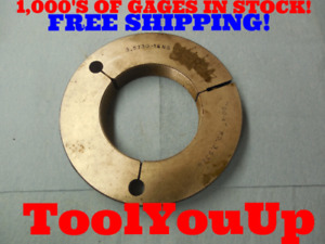3 5730 16 Ns Thread Ring Gage Go Only P d 3 5324 Precision Tooling Tools Tool