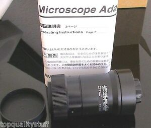Sony Mva 15 C mount Microscope Camera Or Video Adapter New