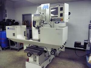 Milltronics Cnc Vertical Bed Mill Model Mb18 3 axis Milling Machine