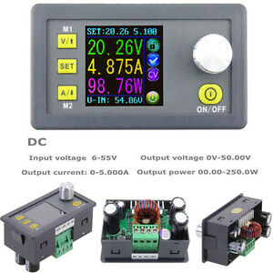 Dp 50v 5a Constant Voltage Current Step down Programmable Power Supply Module