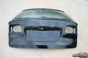 2004 Mazda 6 Auto Hatchback Rear Trunk Lift Gate Glass Back Lid 04