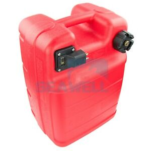 Portable Boat Fuel Tank 24l Yamaha Marine Outboard Fuel Tank W Connector