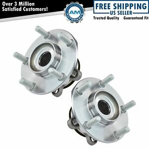 2 Front Wheel Bearing Hub W Abs For 2008 2009 2010 2011 2012 2013 Nissan Rogue