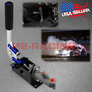Blue Hydraulic Racing Hand E Brake Drift Rally Handbrake Aluminium Lever Hb01