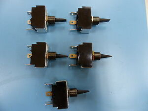Carling 3 79054mm Qty Of 5 Per Lot Spdt on off on 250 Qc Term Toggle Switv