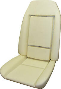 1978 1981 Firebird Trans Am Custom Deluxe Seat Foam Cushion Set 1 Front Seat