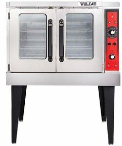 New Commercial Gas Convection Oven Full Size Single Deck Vulcan Vc4gd