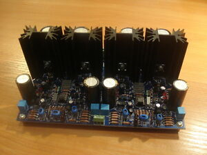 Current Feedback cfa Headamplifier With Jfet Frontend Fully Populated