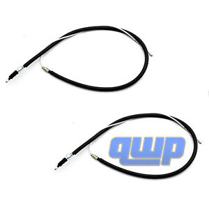 Pair 2 Left Right Emergency Parking Brake Cable For Vw Jetta Golf Beetle New