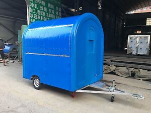 New Fry Ice Cream Concession Stand Trailer Mobile Kitchen Free Shipped By Sea