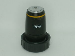 Motic Plan 10x 0 25 0 17 Microscope Objective 21a