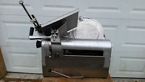 Hobart Automatic Slicer 1912 Gear Drive Commercial Deli Meat Cheese Works Great