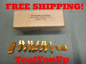 10pcs New Tungaloy Pcr 3062 R Pc300 Top Notch Grooving Inserts Cnc Tooling