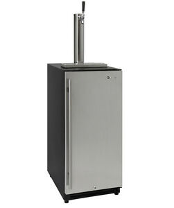 Kegco Vsk 15ssrn 15 Wide Built In Undercounter Kegerator With Stainless Door