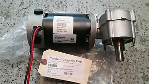 Tennant Side Brush Motor And Gear Box 1052754
