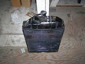 Massey Ferguson Radiator 135 all Gas Diesel Models a 1660499m92