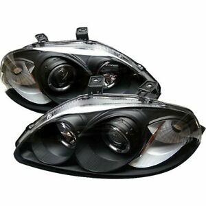Spyder 5010902 Headlight For 96 98 Honda Civic Left And Right With Bulb 2pc