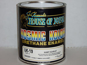 Uk19 Scarlet Kandy House Of Kolor Kosmic Kolor Uk 19 Gallon