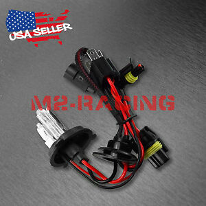 One Pair 35w Hid Xenon Replacement Bulb H4 9003 Hb2 Hi Lo Lightning Headlight