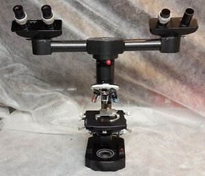 Wild Heerbrugg M20 Dual Head Teaching Microscope