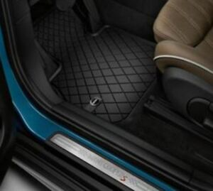 Oem Mini Cooper Countryman F60 Essential Black All Weather Floor Mats Front Rear