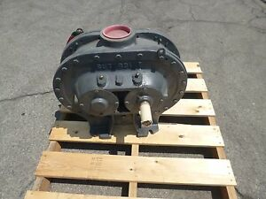 Rebuilt Sutorbilt Positive Displacement Blower 8h f 4 Inlet Outlet