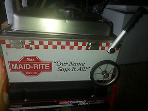 Maid rite Global Carts Table Top Warmer Wagon