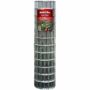 Yardgard 308302b Galvanized Welded Wire Fence 14 gauge 4 x2 Mesh 48 x50