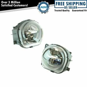 Front Bumper Mounted Led Fog Light Lamp Lh Rh Kit Pair For Bmw Suv Truck New
