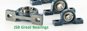 10 Fyh Ucp201 8 Two Bolt Flange Mount 1 2 Inch Pillow Block Bearings Ucp 201