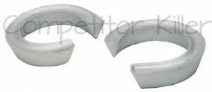 Two Coil Spring Lift Spacers Gmc Savana Van 1996 2010 2wd 2 5 Front Lift Kit