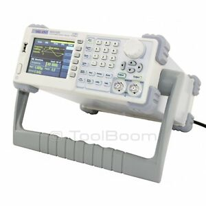 Siglent Sdg1025 Arbitrary Waveform Function Generator 2 Channels 25mhz 125ms s