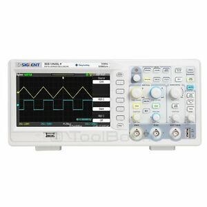 Siglent Sds1052dl 2 channel Digital Oscilloscope 50 Mhz 500 Msa s 32 K