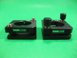 Thorlabs Mirror Mount Lens 50mm X 50mm 2x Used
