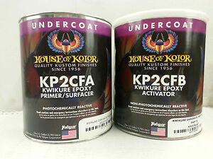 Kp2cf Kwikure Epoxy Primer Chromate Gallon Kit Part A B House Of Kolor