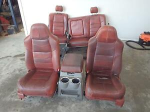 2008 2010 Ford F250 King Ranch Front Rear Seats Console Interior F350 Super Duty