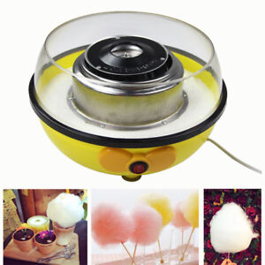 Us Plug Cotton Candy Maker Machine Floss Commercial Carnival Party Fluffy Sugar