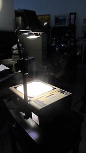 Dukane 663 Portable Overhead Projector In Good Working Condition