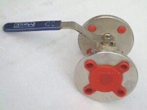 Nos Marck Industrial Valves 25mm Valve Cf8m X855 150 Oil Gas Well