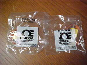 Omega Sc gg k 30 36 pp Safety Clip Thermocouple Connector Lot Of 2 Nos