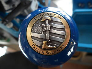 In Honor Of Fallen Soldiers 2 Pool Ball Knob Dillon Hornady RCBS Reloading Press