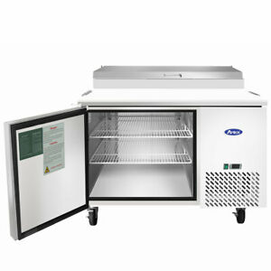 New 44 1 Door Refrigerated Pizza Prep Table Atosa Mpf8201 2228 Commercial Nsf
