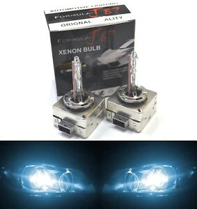 Hid Xenon D3s Two Bulbs Head Light 8000k Icy Blue Bi Xenon Replacement Low Beam