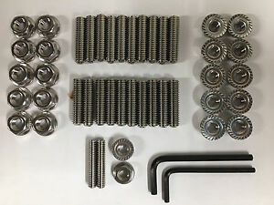 Big Block Chevy Stainless Steel Oil Pan Stud Kit And Wrenchs 1 25 Long