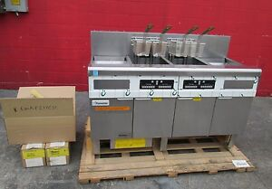New Frymaster Electric Double Digital Fryer With Filtration System