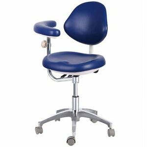 Dental Medical Mobile Chair Doctor s Chair With Adjustable Assist Support Pu
