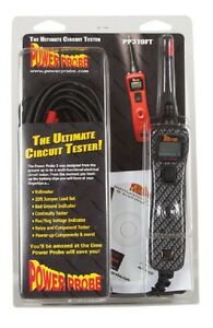 Power Probe Iii Circuit Tester Clamshell Carbon Fiber Pp3cscarb Diagnostic Tool