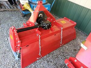 Rotary Tiller 6 Farmline Gear Driven 3 Point Tractor Attachment New Adjustable